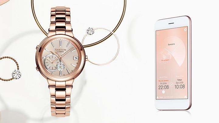 08bf6e465e4d Los relojes de la colección Sheen de Casio para mujer forman parte de una  serie exclusiva y variada de relojes analógicos realizados para mujeres  exigentes ...