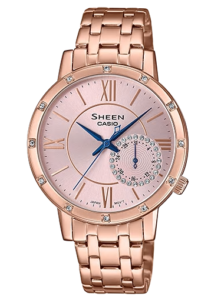 she-3046pg-4auer Casio Sheen