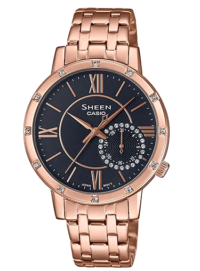 she-3046pg-8auer Casio Sheen