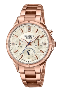 she-3047pg-9auer Casio Sheen