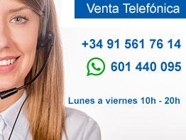 Venta telefónica Casio