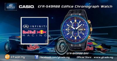 EFR 549RBB 2AER Reloj Casio Edifice Redbull | Baroli