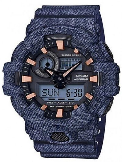 Reloj Casio G-Shock Denim GA-700DE-2AER