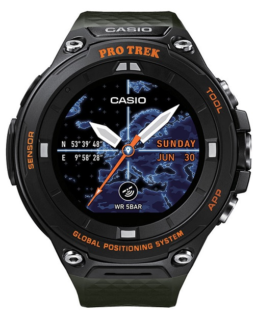 795a511bbb47 Reloj Casio Pro Trek Pro-Trek Smart WSD-F20A-GNBAE