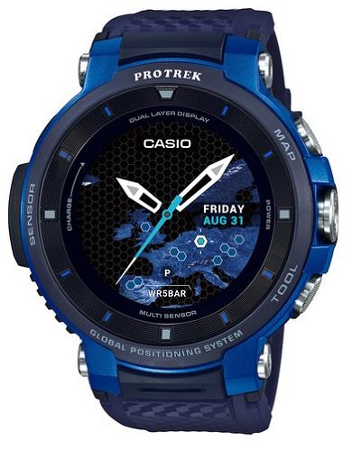 Reloj Casio Pro-Trek Smart WSD-F30-BUCAE