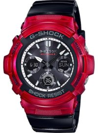 Reloj Casio G-Shock Black & Red AWG-M100SRB-4AER