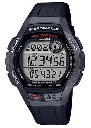 Reloj Casio Digital Caballero WS-2000H-1AVEF