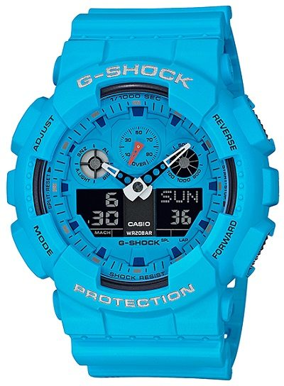 Reloj Casio G-Shock GA-100RS-2AER
