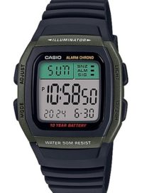 Reloj Casio Digital Caballero W-96H-3AVEF