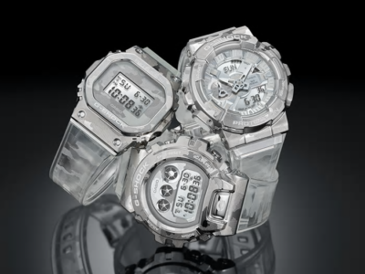 G-Shock Metal Covered